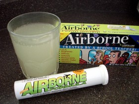 have you tried the claimed Airborne cold remedy with good results? the reviews are mixed on its benefits.