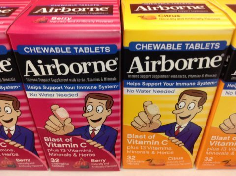 Using airborne cold remedy works for some and not for others. here's the pros and cons
