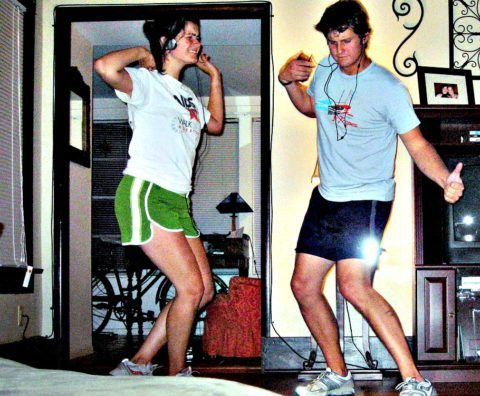 one of the best at home workouts is dancing