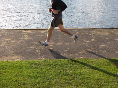 simple home workouts can include jogging running or walking