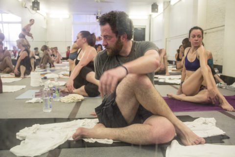 Doing bikram hot yoga is great for weight loss.