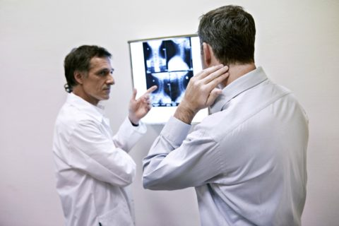 A chiropractor usually takes x-rays or photos -- to see misalignments of the spine where adjustments are needed, and to measure progress over time.
