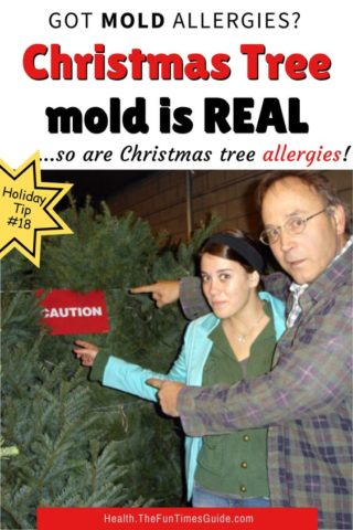 Christmas tree mold is read. Here's what you can do about it!