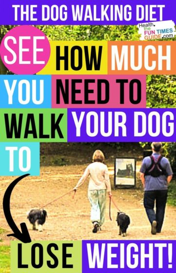 See how much you need to walk your dog to lose weight!