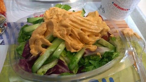 Healthy Fast Food Options - A fast food salad is a healthy alternative. photo by hile on Flickr