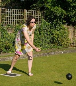 Outdoor Activities Lawn Bowling