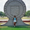 First day of grad school at Texas Tech in Lubbock, Texas.