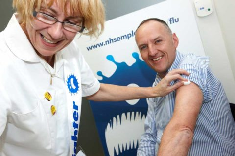 It's never too late to get a flu shot!