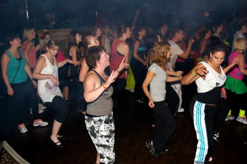 find zumba workout classes near you
