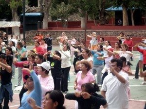outdoor zumba classes